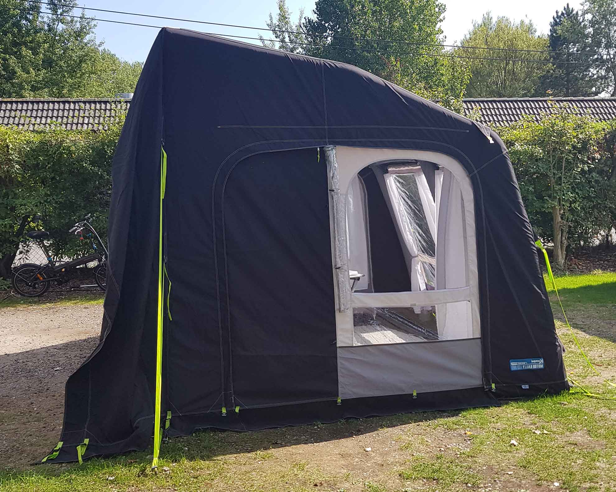 New: Driveaway air tent for RV`s!